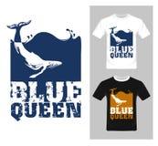 T-shirt Grafisch Ontwerp Abstracte vissenvector Stock Foto's