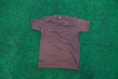T-shirt on the grass Stock Image