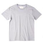 T-shirt gris Photo libre de droits