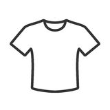 T-shirt icon Stock Photography