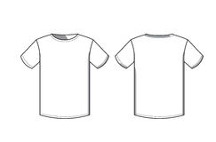 T-Shirt Ikone Lizenzfreies Stockfoto