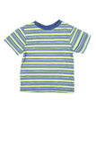 T-shirt listrado Fotografia de Stock Royalty Free