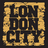 T-Shirt London, Design, Mode Stockfoto