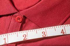 T-shirt measure Stock Images