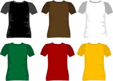 T-shirt for men vector Stock Image