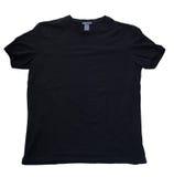 T-shirt noir Image libre de droits