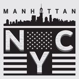 T-shirt NY city Stock Photography