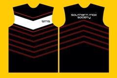 T-shirt ontwerp-02 rooster stock illustratie