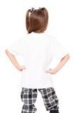 T-shirt op meisje royalty-vrije stock foto's
