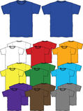 t-shirt outline Stock Photo