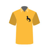 T-shirt with a picture of horse. Vector Illustration. Stock Photo