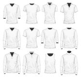 T-shirt. Polo shirt and other clothes Royalty Free Stock Photo
