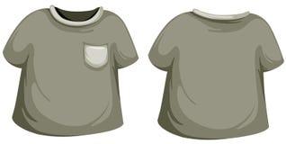 T-shirt preto Imagem de Stock