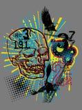 T-Shirt Print ARTWORK Stock Photos