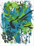 T-Shirt Print ARTWORK Royalty Free Stock Image