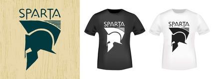 T-shirt print design Royalty Free Stock Photos