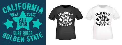 T-shirt print design Royalty Free Stock Image