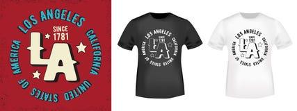 T-shirt print design Stock Photos