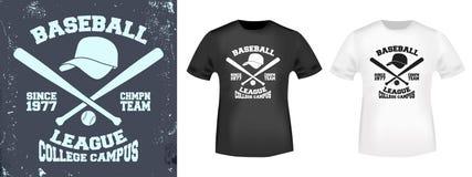 T-shirt print design Stock Image