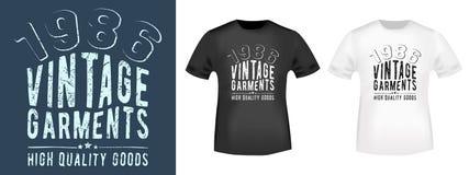 T-shirt print design Royalty Free Stock Images
