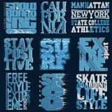 T-shirt Printing Design Stock Image