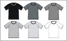 T-shirt 03 raglans, vecteur Image stock