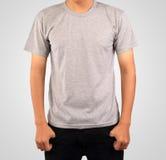 T-Shirt Schablone Stockfoto