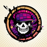T-shirt Skull Stock Photo