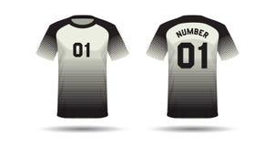 T-Shirt Sportdesign Stockfotos