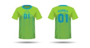 T-Shirt Sportdesign Lizenzfreies Stockbild
