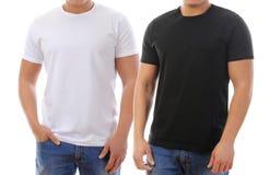 T-shirt sur un jeune homme images libres de droits