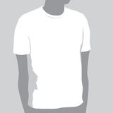 T-shirt Template. With Space For Your Design Stock Image