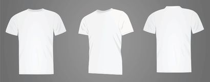 T shirt template Stock Image