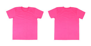 T-shirt template set(front, back) Stock Photography