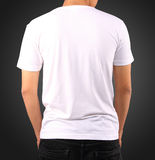 T-SHIRT TEMPLATE. USE FOR LAYOUT, DESIGN, & BACKGROUND Royalty Free Stock Photo