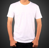 T-SHIRT TEMPLATE. USE FOR LAYOUT, DESIGN, & BACKGROUND Royalty Free Stock Photos
