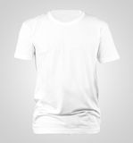 T-shirt template. USE FOR LAYOUT, DESIGN, & BACKGROUND Stock Photography