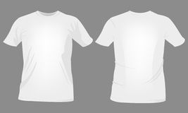 T-shirt templates Royalty Free Stock Photos