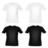 T-shirt templates Royalty Free Stock Images