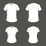 T-shirt Templates Stock Photography
