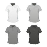 T-Shirt Templates Royalty Free Stock Image