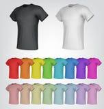 T-shirt templates Royalty Free Stock Photo