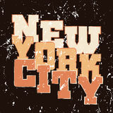 T shirt typography graphics New York Athletic style. T shirt typography graphics New York. Athletic style NYC. Fashion american stylish print for sports wear Royalty Free Stock Photos