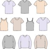 T-shirt stock illustration