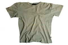 T-shirt vert Photo stock