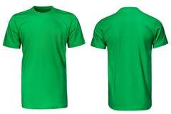 T-shirt vert, vêtements Photos libres de droits