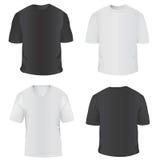 t-shirt voor mensenvector Stock Fotografie
