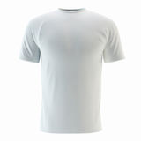 T-Shirt. White t-shirt for a young man isolated Royalty Free Stock Image
