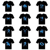 T-shirt of zodiac Royalty Free Stock Photo