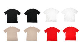 T shirtblank clothing Stock Photos
